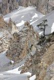 Déserte de Casse del La, parte del parque natural de Queyras del francés Imagen de archivo libre de regalías