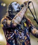 Dødheimsgard DHG bor i svart metall för konsert 2017 Royaltyfri Fotografi