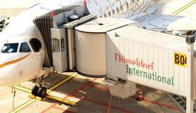 DÃ ¼ sseldorf Flughafen Stockfoto