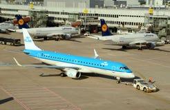 DÃ ¼ sseldorf Flughafen Stockfotografie