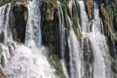 Beautiful Turkey, Antalya. Detail of Düden waterfall in Antalya, Turkey Royalty Free Stock Images