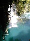 DÃ-¼ Höhlenwasserfall in Antalya Lizenzfreie Stockbilder