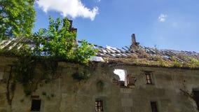 Dépendance nas ruínas Foto de Stock Royalty Free
