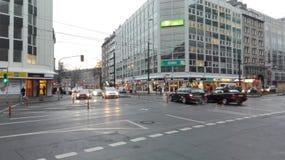 DÃ ¼ sseldorf城市 免版税库存照片