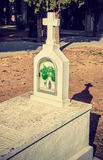 DÃa de Los Muertos - weißes Grab stockfotos