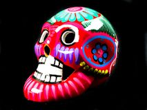 DÃa de Muertos Sugar Skull Royaltyfria Bilder