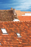 Dächer stockfoto