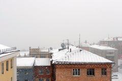 Dächer Stockbild