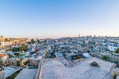 Dächer der alten Stadt Jerusalem, Israel Stockfoto