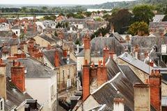 Dächer der bois Stadt Stockfotografie