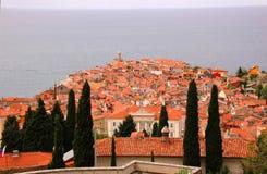 Dächer des alten venetianischen Kanals Stockfotos