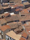 Dächer Sizilien stockfotos