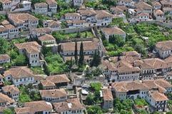 Dächer und Grün Lizenzfreie Stockfotos
