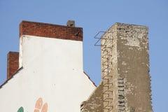 Dächer und Kamine Stockfotografie