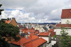 Dächer von altem Bergen Lizenzfreie Stockfotografie