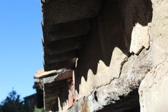 Dächer von alten Häusern Lizenzfreie Stockfotografie