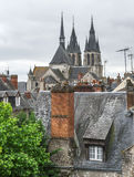 Dächer von Blois Lizenzfreie Stockfotografie