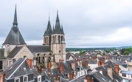 Dächer von Blois Stockbilder