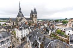Dächer von Blois Stockfoto