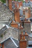 Dächer von Blois-Stadt, Lizenzfreie Stockfotografie