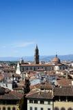 Dächer von Firenze lizenzfreie stockfotografie