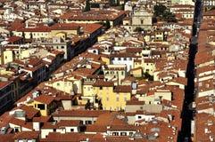 Dächer von Florenz Stockfotografie
