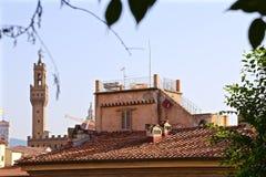 Dächer von Florenz Stockfotos
