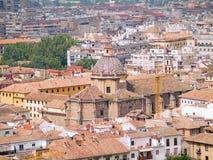 Dächer von Granada Lizenzfreie Stockfotos