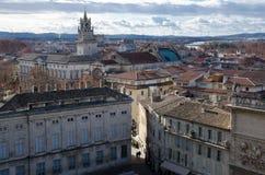 Dächer von historischem Avignon lizenzfreie stockfotografie