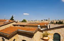 Dächer von Jerusalem Stockfoto