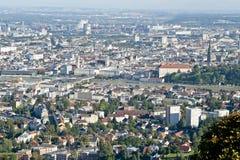 Dächer von Linz Lizenzfreie Stockbilder