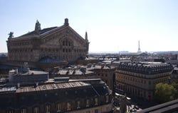 Dächer von Paris Lizenzfreies Stockfoto