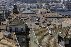 Dächer von Porto Lizenzfreie Stockfotos