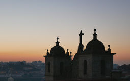 Dächer von Porto Stockbild