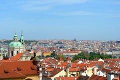 Dächer von Prag Lizenzfreies Stockbild