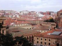 Dächer von Salamanca Lizenzfreies Stockfoto