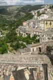 Dächer von Sizilien Stockfotografie