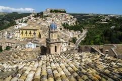 Dächer von Sizilien Stockbilder