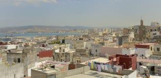 Dächer von Tangier Stockbild