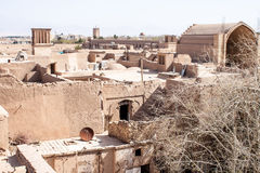 Dächer von Yazd Lizenzfreies Stockbild
