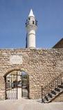 däck för lebanon minaretmoské royaltyfri bild