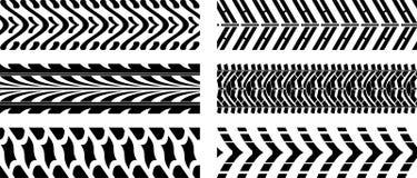Däck mönstrar Arkivfoton
