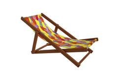 Däck-stol Royaltyfri Fotografi