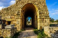 Däckkapplöpningsbana och nekropol 18 royaltyfria bilder