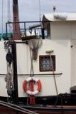 däcksutrustning seglar Royaltyfria Foton