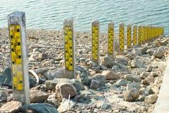 dämma av thailand för prakarnchon för dan gagekhun vatten Arkivbilder