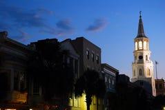 Dämmerung auf Charleston Lizenzfreie Stockfotos