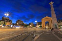 Dämmerung in Bordeaux Lizenzfreie Stockfotografie