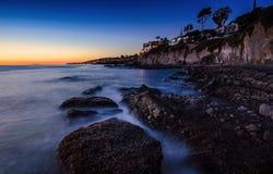 Dämmerung des Victoria-Strandes Lizenzfreie Stockfotografie