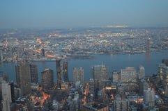 Dämmerung in New York Lizenzfreies Stockfoto